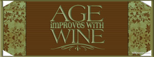 Age Improves with Wine Facebook Cover