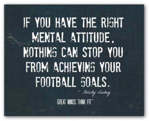 Football Attitude Quote #011