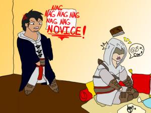 Stop Ignoring Me Altair by pikagurlXD