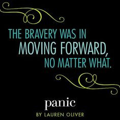 ... was in moving forward, no matter what.