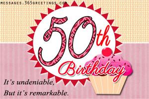 50th Birthday Quotes, Birthday Quotes