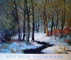 Winter Woods Kent Wallis