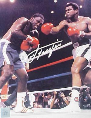 Joe Frazier Muhammad Ali