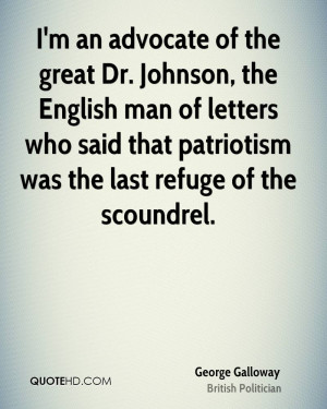 George Galloway Patriotism Quotes