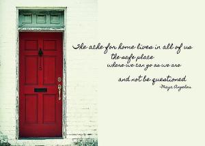 red door quote poster red door quote by jamart photography 4814 of ...