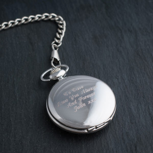 Engraved Fob Watch