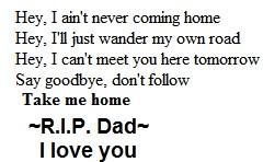 RIP Dad Image