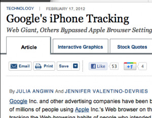 "... on Google, Apple, and ""Privacy"" 