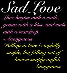 about love sad love poems for him how to catch your spouse cheating ...
