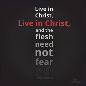 ... they love him that is how we know we are living in him 1 john 2 4 5