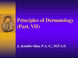 Visual Diagnosis Dermatology