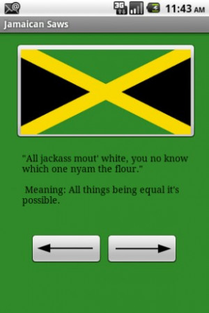Funny and serious Jamaican nuggets of wisdom covering family, friends ...