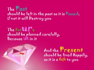The Future Should be Planned Carefully because UR In It ~ Future Quote