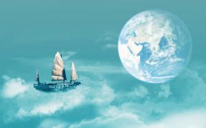 Sky Sailing Wallpapers