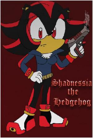 Name Shadow The Hedgehog