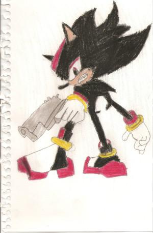 Shadow The Hedgehog Neutral