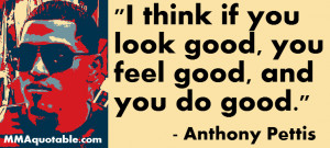 Anthony Showtime Pettis on looking good and doing good