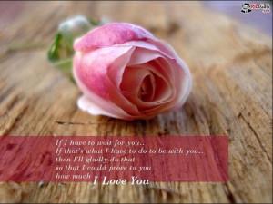 Husband Pink Rose Quotes