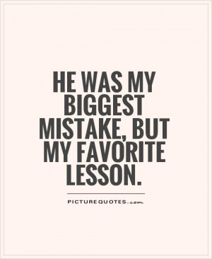 Biggest Mistake Quotes