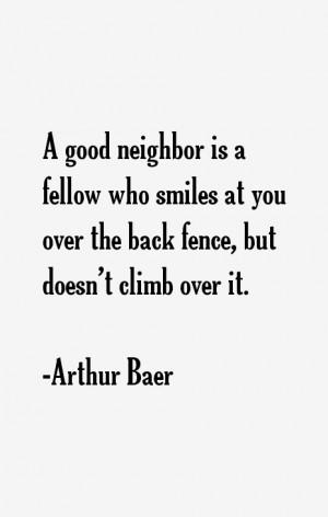 Arthur Baer Quotes & Sayings