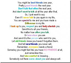 best Friends Quotes And poems