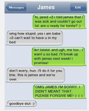 15 WTF Texts That Will Show Cheating