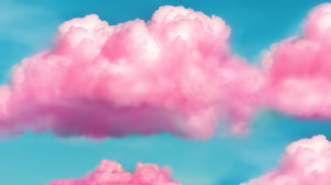 Pink Fluffy Clouds HD Wallpaper by pinkquilldesign