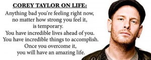 Corey Taylor ~ On Life: