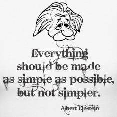 Albert Einstein Quotes Women's T-Shirts