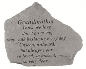 Grandmother: Those we love don't go away