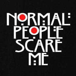 Normal People Scare Me Sweatshirts   Zip Up Hoodies & Crew Necks ...
