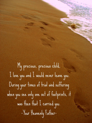 Footprints In The Sand Poem Printable Footprints in the sand poem-