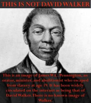 Go Back > Gallery For > David Walker Abolitionist