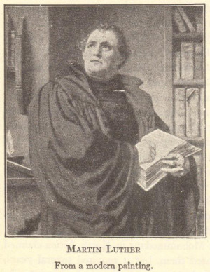 martin luther from a modern painting martin luther sparked the