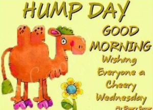 Good Morning Hump Day