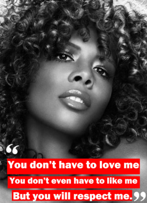 an old pic of kelis with her curlz and a quote that i love take a ...