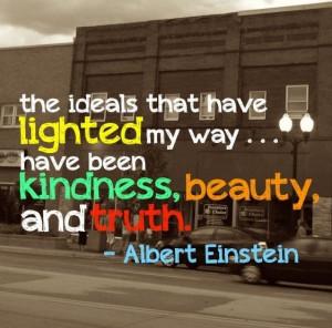 Einstein Quote.