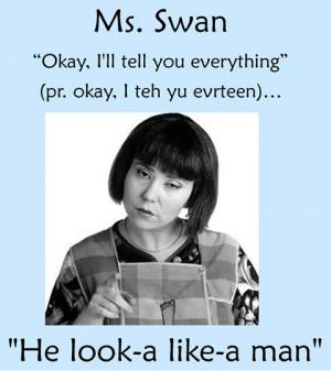Ms. Swan.
