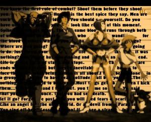 Cowboy Bebop Quotes by Morgan-666