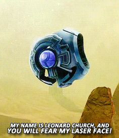 ... Church: I AM NOT A THING! My name is Leonard Church, AND YOU WILL FEAR