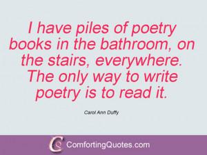 Carol Ann Duffy Quotations