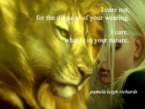 Lioness Quotes Lady lioness pamela quote