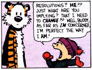 Funny New Year Resolutions