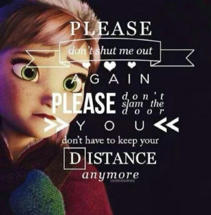Dream Diary Frozen Quotes!