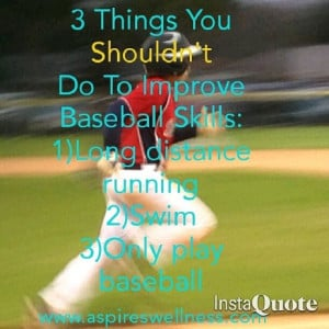 love baseball, mainly because my son plays and partly because I grew ...