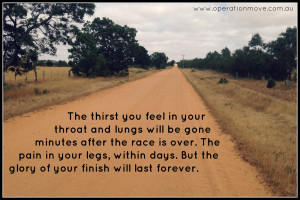 marathon running inspiring quote