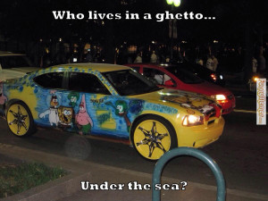 Funny Ghetto Memes Funny memes who lives in a ghetto under the sea