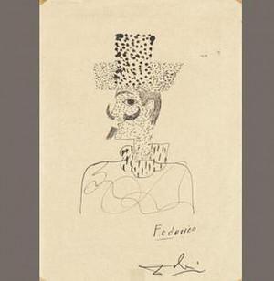 Un autorretrato que el pintor español Salvador Dalí dedicó en 1928 ...