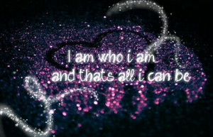 cute, i am, love, me yourself, pretty, quote, quotes