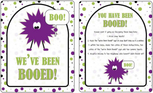 16 Versions} You've Been BOOed! Fun Treats for the Neighborhood!